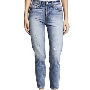 NWT Levi's Wedgie Fit High Waisted Jeans